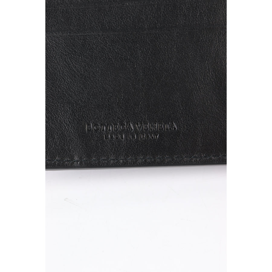 BOTTEGA VENETA/Bifold Wallet/leather/BLK