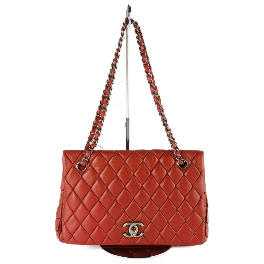 CHANEL/Cross Body Bag/sheep leather/BRD/Matelasse