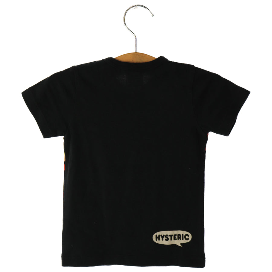 Hysteric Mini/T-Shirt/90cm/BLK/Cotton