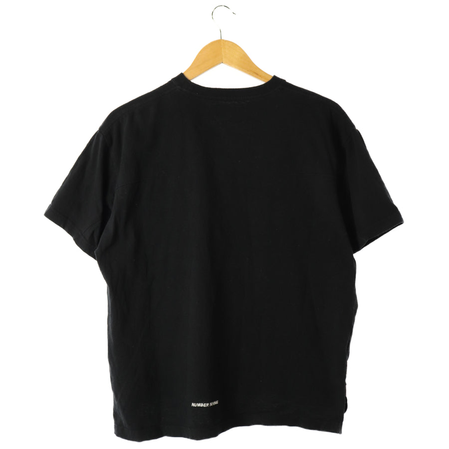 NUMBER (N)INE/T-Shirt/S/BLK/Cotton