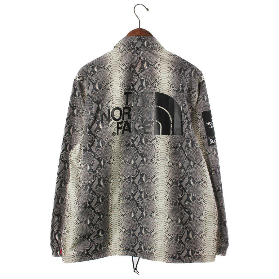 Supreme/X The North Face/Snakeskin Taped Seam Coaches Jacket Black/M/Nylon/BLK