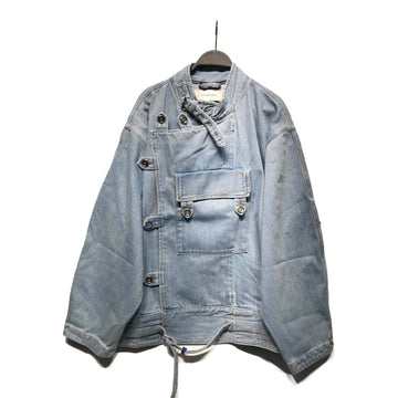 MARQUES ALMEIDA//Denim Jkt/XS/IDG/Denim/Plain