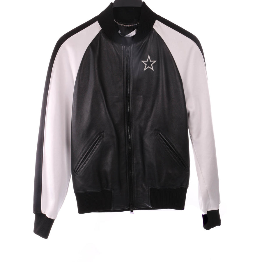 GIVENCHY/46/Leather Jkt