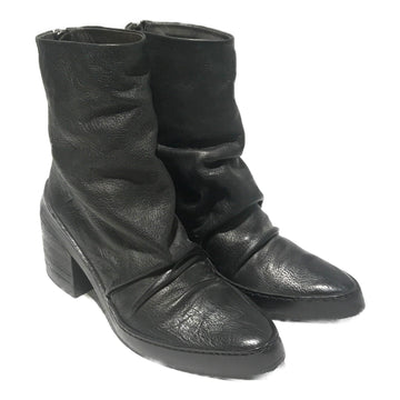 Marsell//Ankle Boots/38/BLK/Leather/Plain