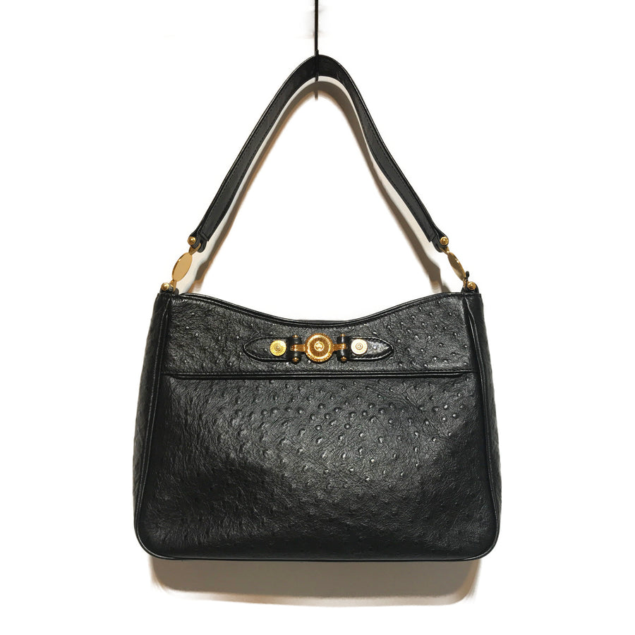 GIANNI VERSACE/Hand Bag/BLK