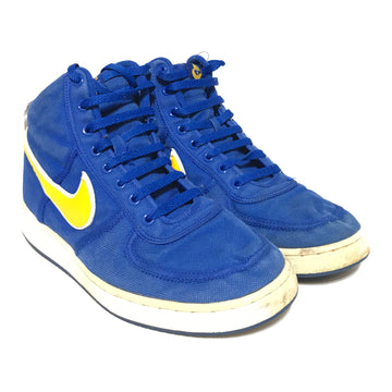 NIKE/VANDAL HIGH SUPREME/Hi-Sneakers/US10/BLU/Cotton/Plain