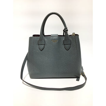 KATE SPADE/OS/Hand Bag/GRY/Leather/Plain