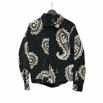OCTOBERS VERY OWN(OVO)//LS Shirt/S/BLK/Corduroy/Paisley