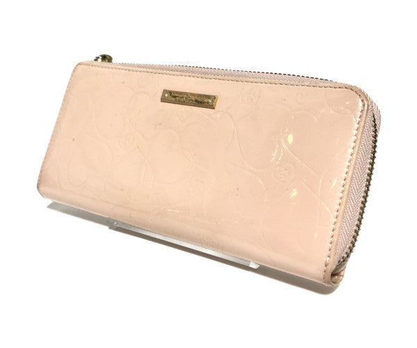 Samantha Thavasa Petit Choice/Long Wallet/Enamel/PNK