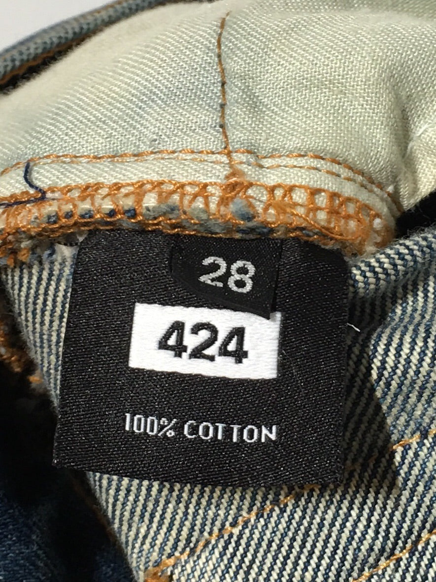 424(FourTwoFour)/Skinny Pants/28/Cotton/IDG