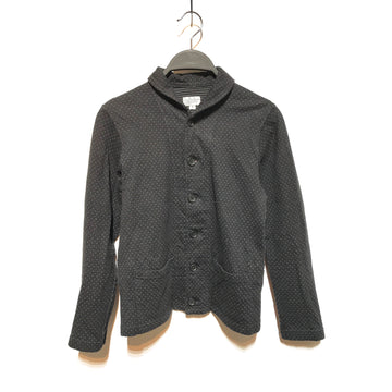 Engineered Garments//LS Blouse/1/BLK/Cotton/Polka dot