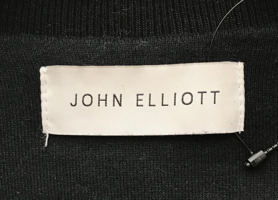 John Elliott//Jacket/1/BLK/Cotton/Plain