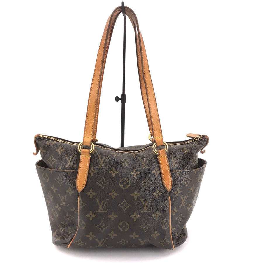 LOUIS VUITTON/Tote Bag/Totally PM/Monogram/BRW/M41016