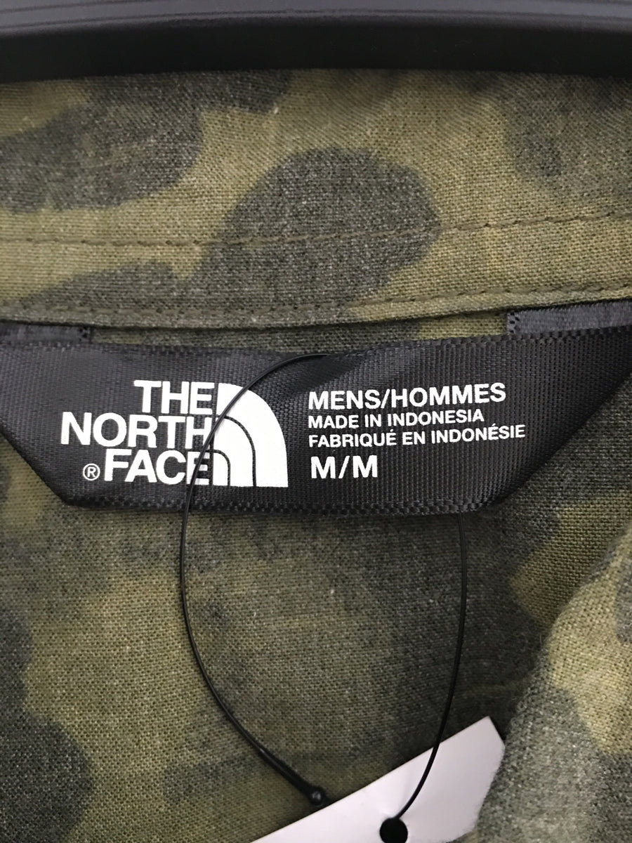 THE NORTH FACE/SLATE WVN-RTO/M/LS Shirt/MLT/Others/Camouflage