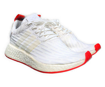 Adidas/ADIDAS NMD R2 WHITE /Low-Sneakers/US9/WHT/Others/Plain