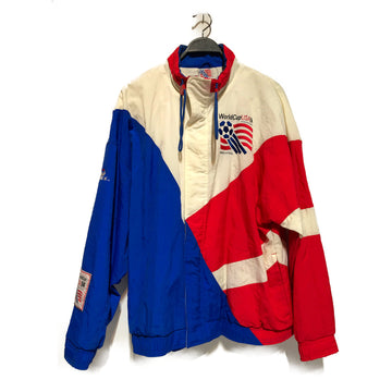 Vintage/WORLD CUP 1994/Windbreaker/XL/MLT/Nylon/Plain