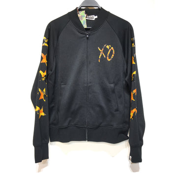 A BATHING APE/L/Jacket/BLK/Polyester/Plain