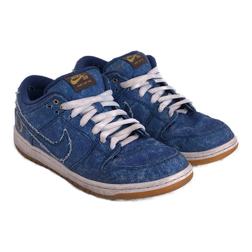 NIKE SB/DUNK LOW/Low-Sneakers/US8.5/BLU/Denim/Plain