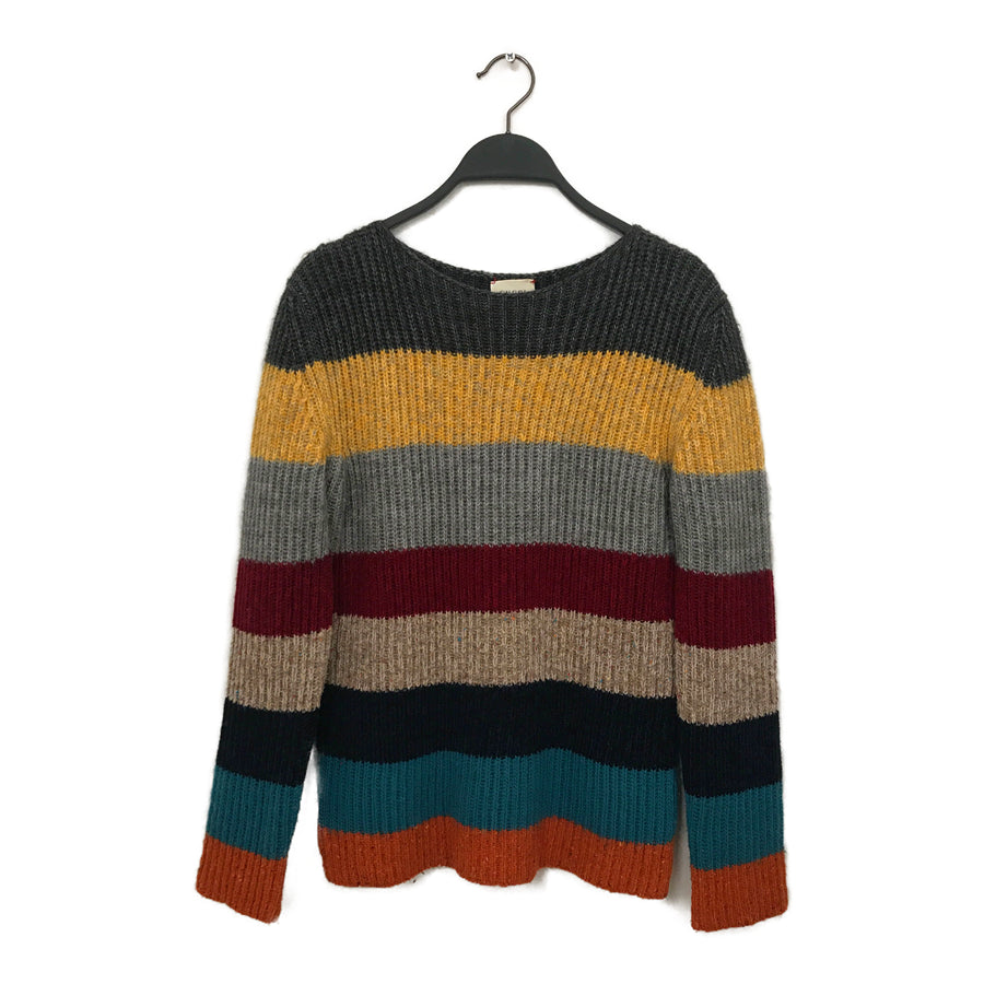 GUCCI/Heavy Sweater/12/Wool/Multi Color