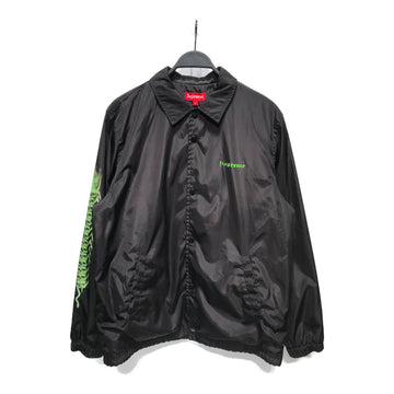 Supreme/X H.R GIGER/Jacket/L/GRN/Nylon/Graphic