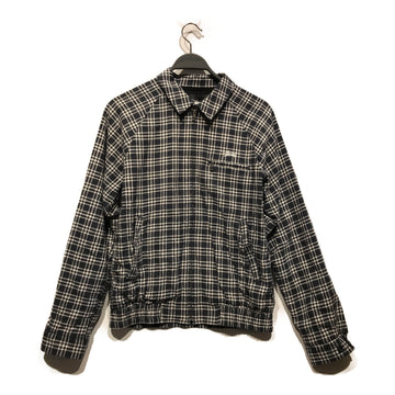 STUSSY//Jacket/S/NVY/Cotton/Plaid