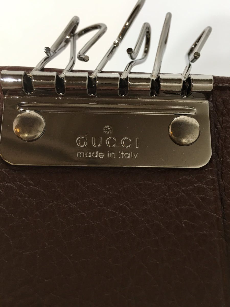 GUCCI/6 Key Holder/Key Case/BRW