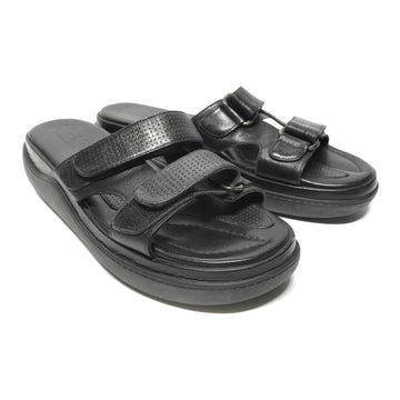 MAX MARA//Sandals/7.5/BLK/Leather/Plain