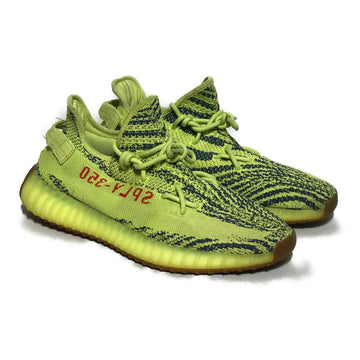 YEEZY/BOOST 350 V2 'SEMI FROZEN /Low-Sneakers/US10.5/YEL/Cotton/All Over Print
