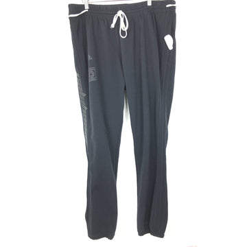 Adidas/XL/Pants/BLK/Nylon/Plain
