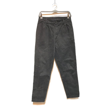 //BONNE AMSTERDAM/Straight Pants/XS/BLK/Cotton/Plain