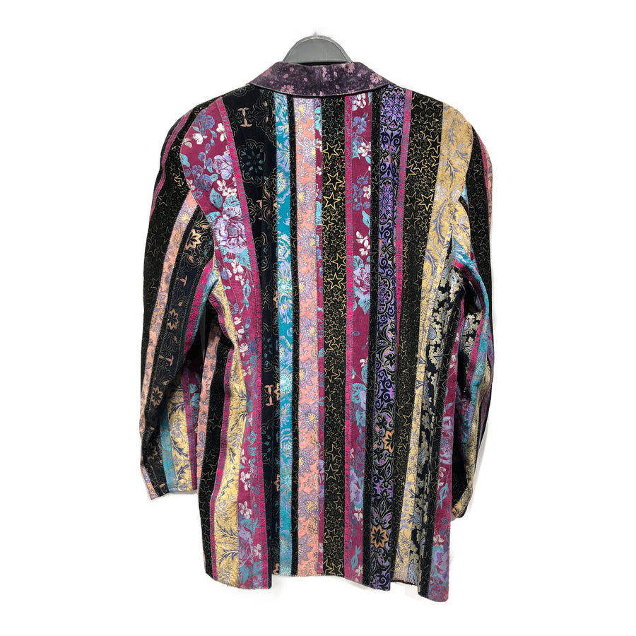 roberto cavalli//Jacket/M/MLT/Suede/All Over Print
