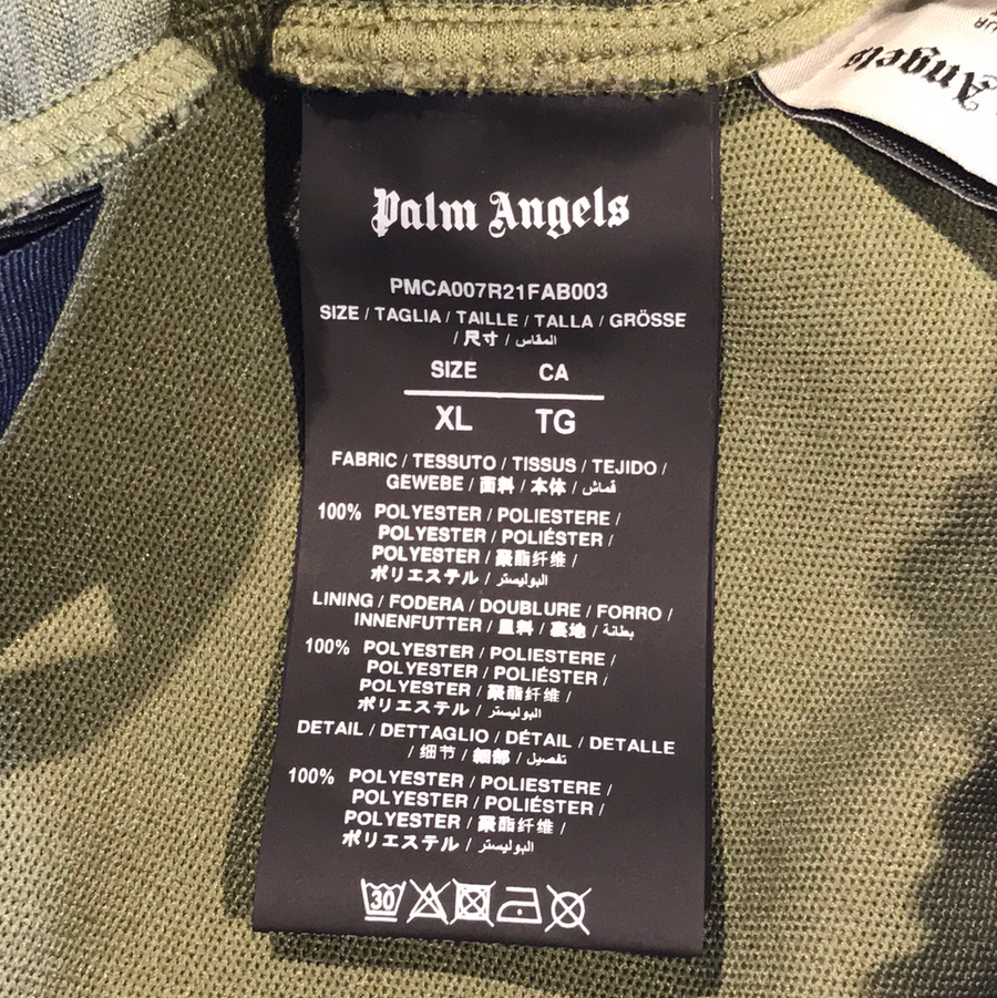 PALM ANGELS//Pants/XL/GRN/Nylon/Plain