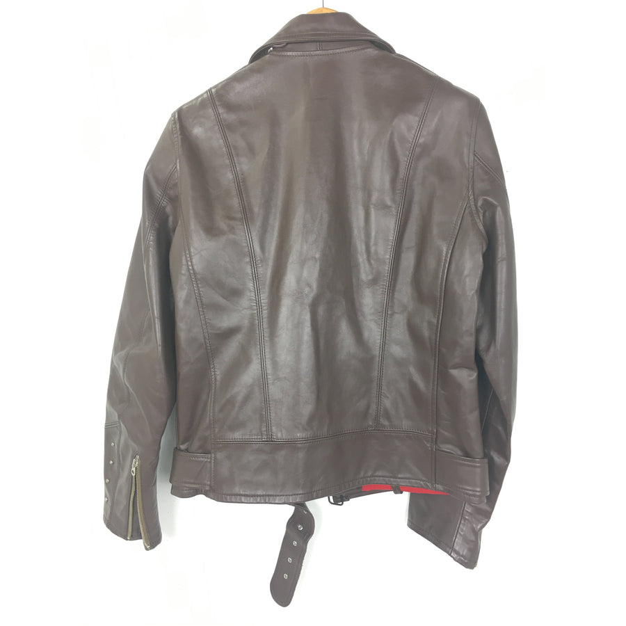 MARKAWARE/Riders Jkt (W)/2/Horse /Leather/BRW