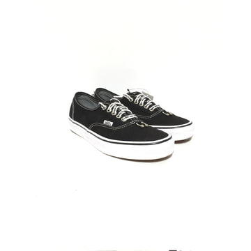 VANS/US7.5/Low-Sneakers/BLK/Cotton/Plain