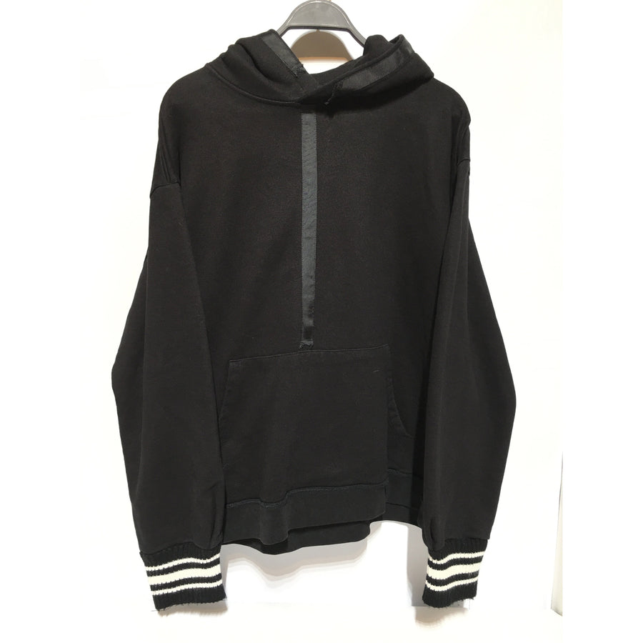 MR Completely/XL/Hoodie/BLK/Cotton/Plain