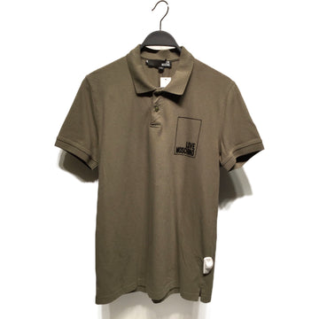MOSCHINO/XL/Polo, Rugby/GRN/Cotton/Plain