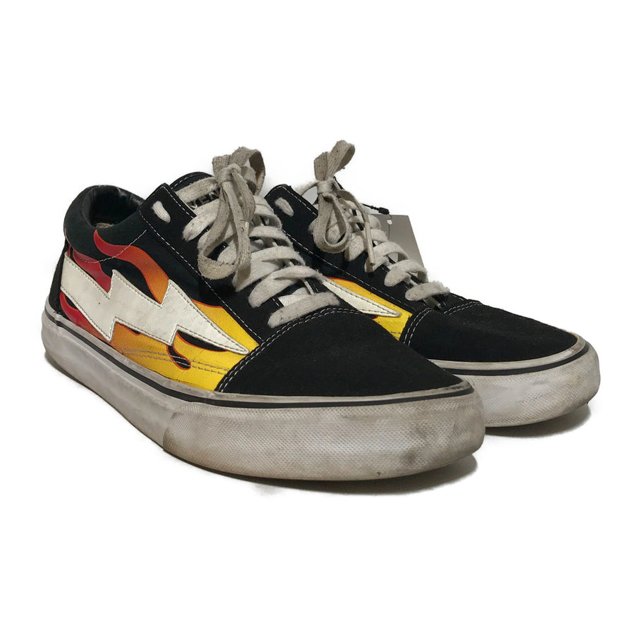 REVENGE STORM//Low-Sneakers/US9/BLK/Others/Graphic