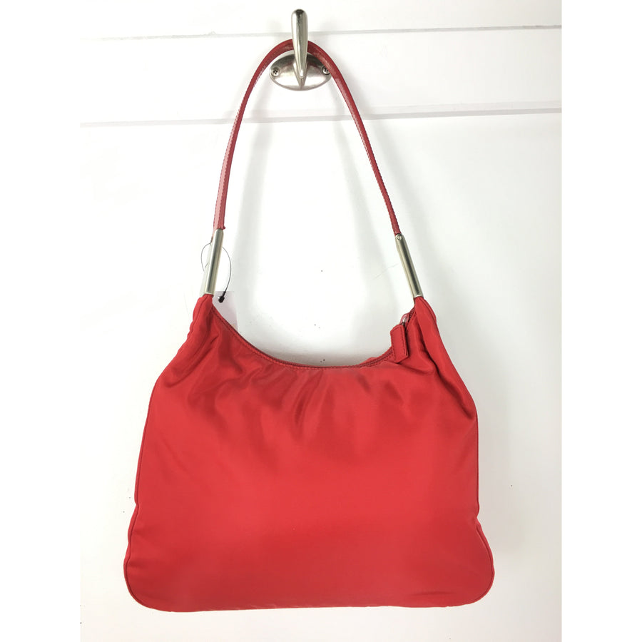 PRADA/Shoulder Bag/Nylon/RED
