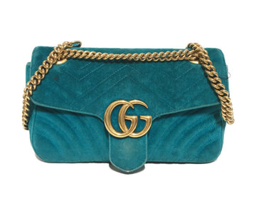 GUCCI//Cross Body Bag/BLU/Others/Plain