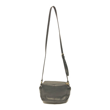 COACH//Cross Body Bag//BLK/Leather/Plain