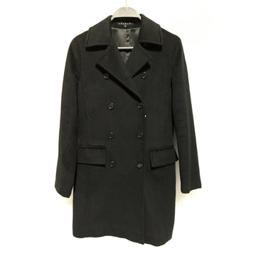 theory/P/Coat/BLK/Wool/Plain