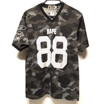 BAPE/L/Tank Top/BLK/Polyester/Camouflage