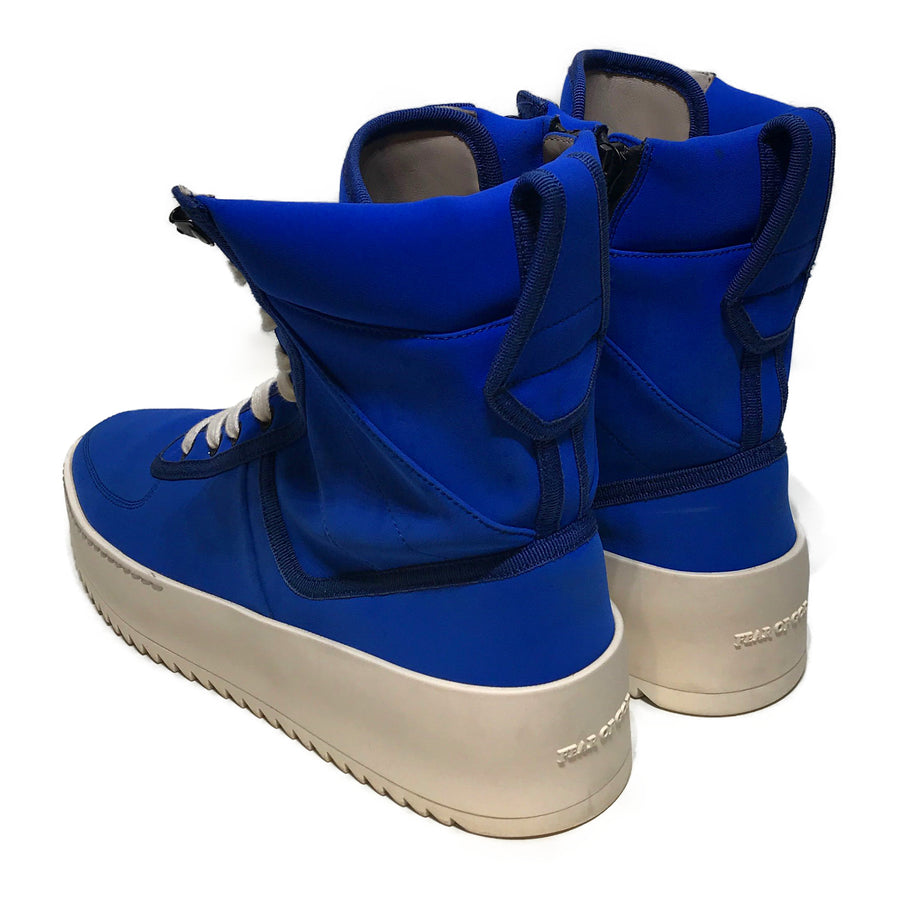 FEAR OF GOD//Hi-Sneakers/EU42/BLU/Others/Plain