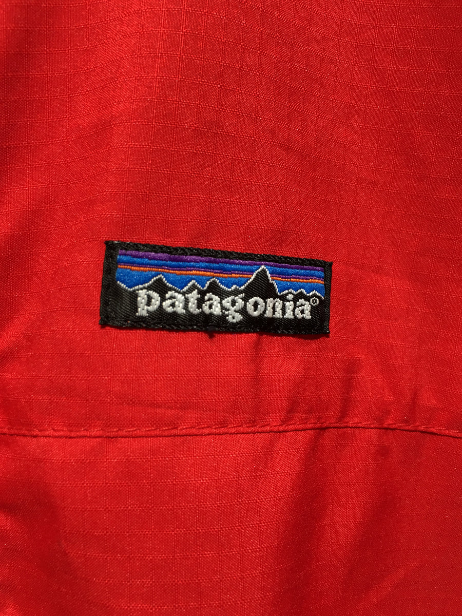 patagonia/L/Windbreaker/RED/Nylon/Plain