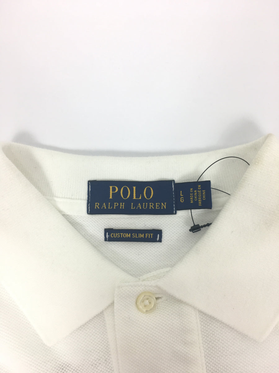 POLO/L/Polo Shirt/WHT