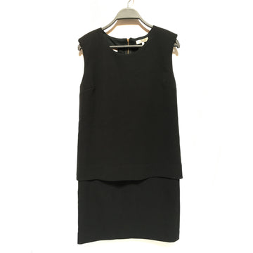 sandro/2/Tunic Dress/BLK/Polyester/Plain