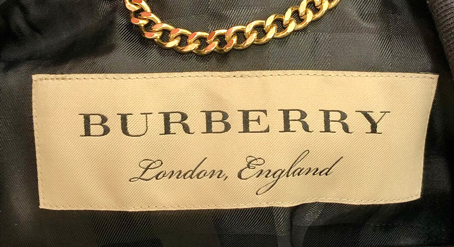 BURBERRY/Jacket/36/Wool/BLK/4050397