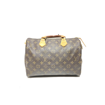 LOUIS VUITTON//Boston Bag/BRW/Leather/Monogram