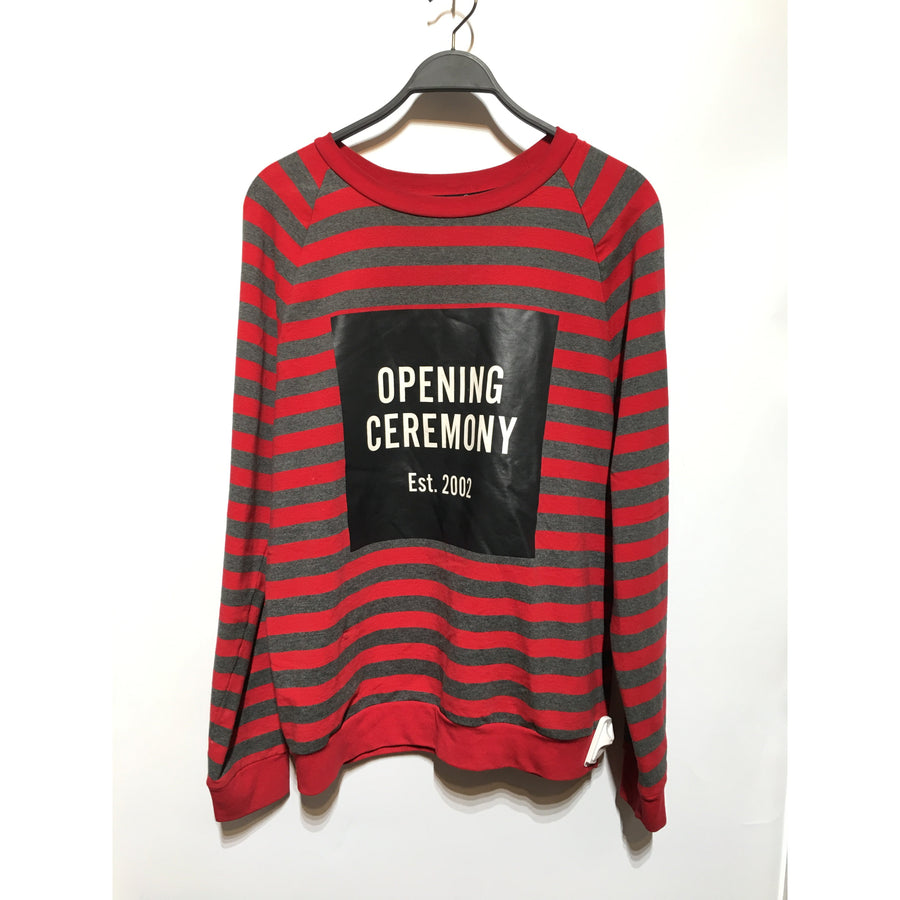 OPENING CEREMONY/M/Sweater/MLT/Cotton/Stripe