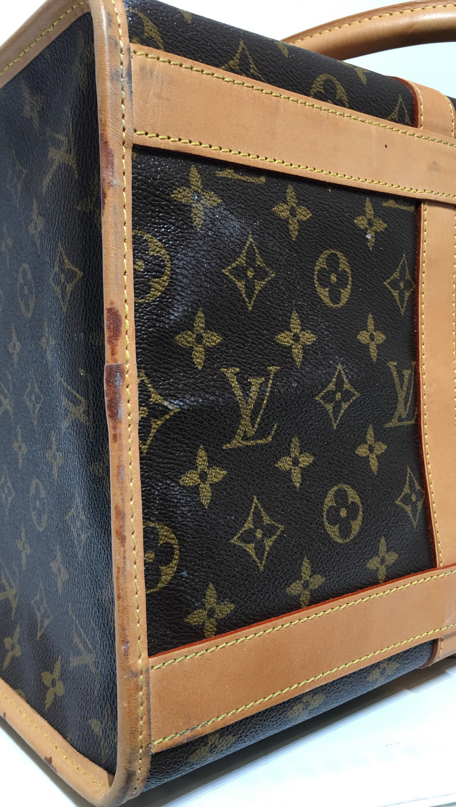 LOUIS VUITTON/Dog Carrier/Sac Chien/Monogram